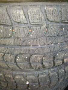 15 INCH WINTER TIRES WITH RIMS..FITS 4 BOLT CARS..CAN DELIVER