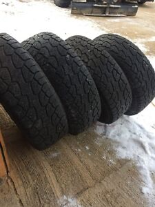 Complete set of 4 winter tires