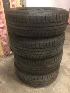 Winter tires and rims-Like new   Michelin X ice 235 70 16