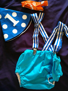 Boy's First Birthday Outfit