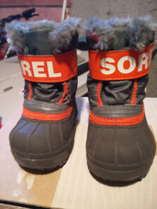 Sorel Toddler Commander Snow Boots, size US4