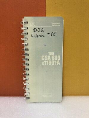 Tektronix The Csa 803 11801a Command Reference
