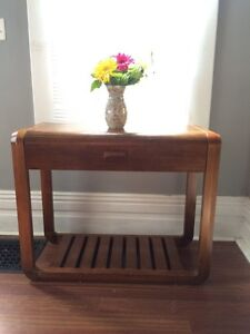 Wooden Matching side tables Peterborough Peterborough Area image 1