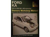 Haynes Ford KA Manual