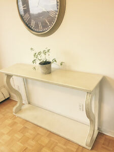 Console table/ Entrance table (white)