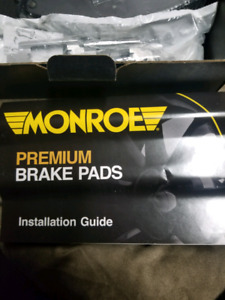 Dodge Charger brake pads