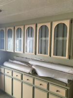 Free cabinets from a mobile