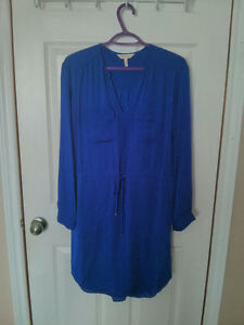 Rebecca Taylor Silk Shirtdress Women's 4 Retails at $200