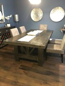 """""""Munro's"""" hand crafted dining room table"""