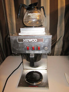 NEWCO COMMERCIAL STAINLESS STEEL COFFEE BREWER