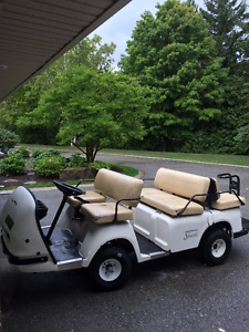 2001 EzGo Shuttle 6 passenger Limo Golf Cart Possible Trades