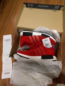 """Adidas NMD """"Clear Red"""" Deadstock"""