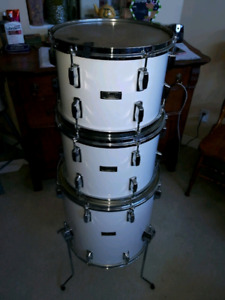 80s Pearl Fibreglass with Session Elite Snare