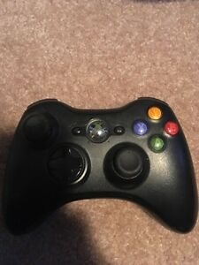 Xbox 360 controller and video cord
