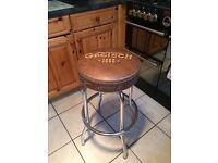 Gretsch guitar bar stool