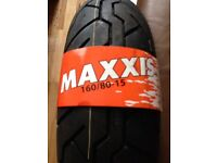 Harley Maxxis rear tyre new