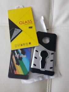 case for phone and screen protector for Motorola G5 plus