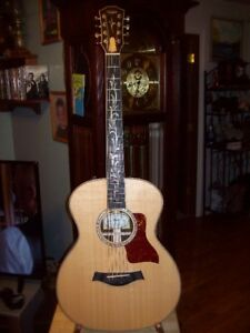 ONLY ONE AROUND 8 STRING BARITONE ACOUSTIC ELECTRIC GUITAR