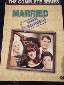 THE COMPLETE SERIES OF MARRIED WITH CHILDREN ON DVD