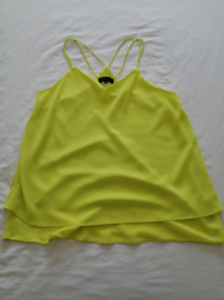 New Look Lime Green Top