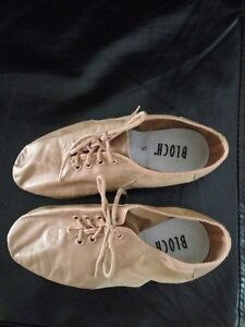 Beige jazz shoes size 5. Bloch brand.  Belleville Belleville Area image 1