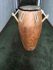 Kpanlogo Drum from Legon, Ghana