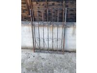 Heavy Wrought Iron 3ft Garden Gate