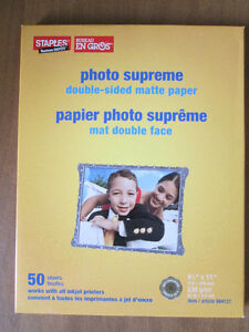 Unused Photo Paper