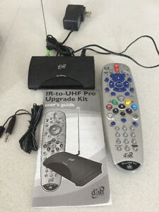Bell TV remote IR to UHF converter