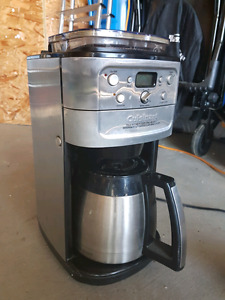 Cuisinart bean grinder and coffee maker in one