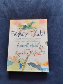 3 Boxed books by Quentin Blake/Russell Hoban