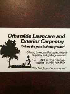 Otherside Lawncare and Exterior Carpentry