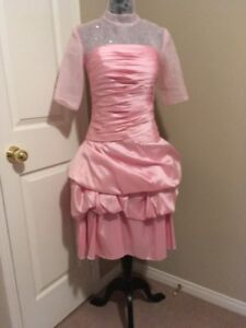 Pretty-in-Pink Formal Gown