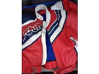 Motorbike jacket size 54 Motor bike trousers size 54 £25 the set