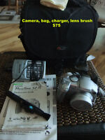 Canon Powershot and Bag and...
