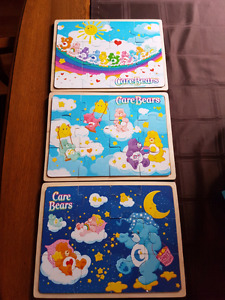 Wood puzzles - Care Bears