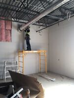Small affordable drywall contractor available