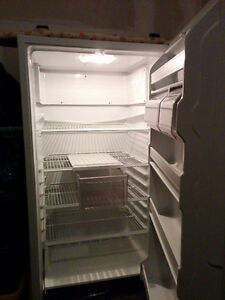 NEW PRICE! Full White Kenmore refrigerator (no freezer)