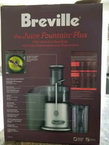Breville - Juice fountain plus...not used