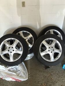 Mag and tires 19 inches Mercedes