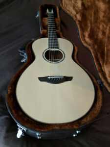 Faith Mercury Guitar with installed L.R.Baggs Lyric Acoustic Mic
