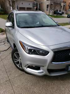 2019 Infinty QX60.  Lease take over