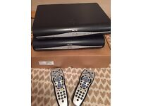 Sky+ hd boxes with wireless function