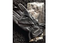 Lewis leather motorcycle gloves XL