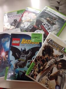 Wii and XBox 360 games