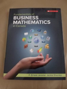 Fundamentals of Business Mathematics in Canada 3rd Edition - New