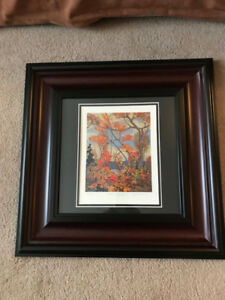 Group of Seven numbered limited edition print with COA