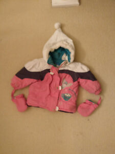 Size 18 months winter jacket and snow pants