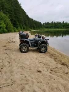 2009 Suzuki king quad 750 axi