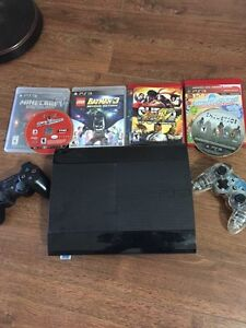 500 GB PlayStation 3 with 6 Games!